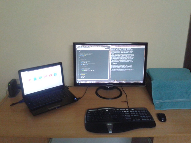 old-development-setup